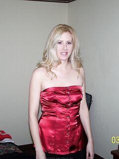 Худосочная блонда отомстила бывшему мужу