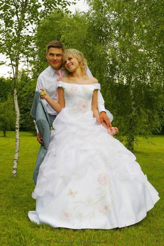 Развратная невеста жаждет секса
